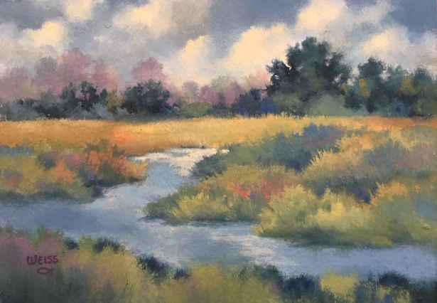 Cloudy Afternoon by  Carol Weiss - Masterpiece Online
