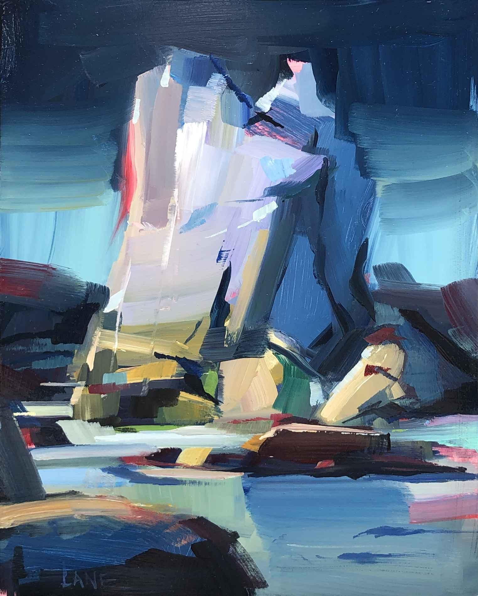 Castle Rock, Midday S... by Mr. Lane Bennion - Masterpiece Online