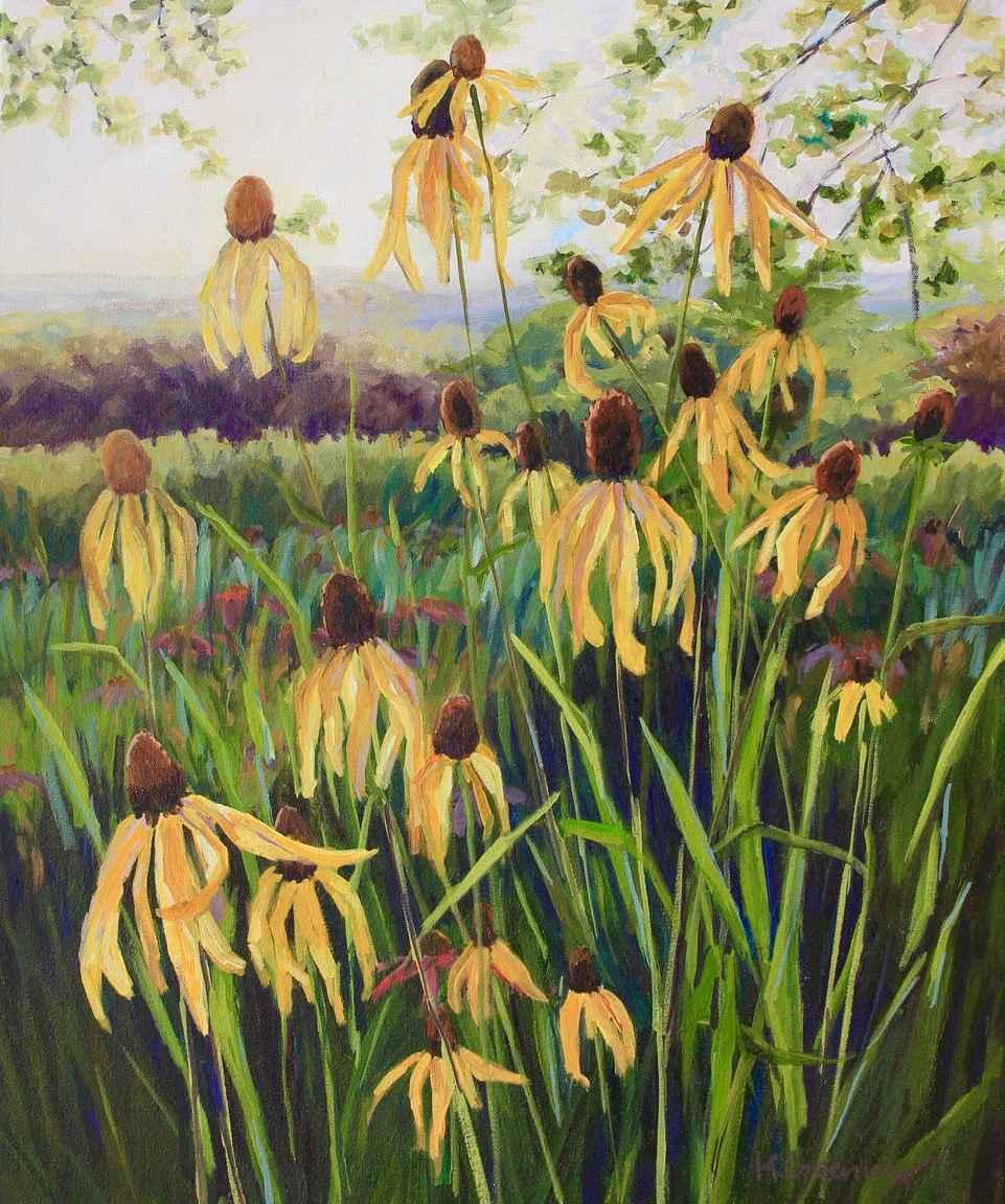 Prairie Garden (Grey ... by  Kristin Goering - Masterpiece Online