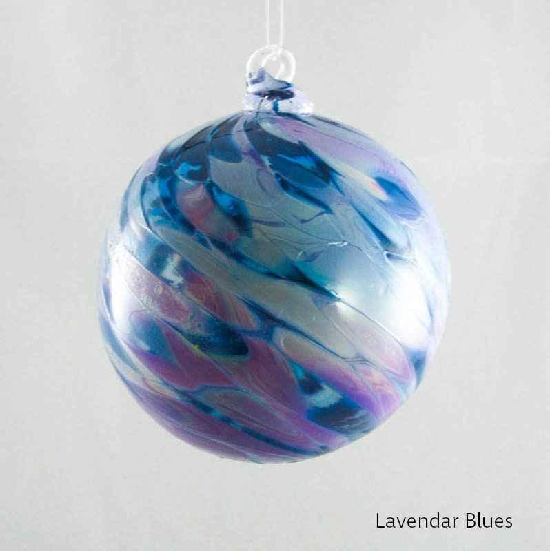 Lavender Blues Stan...  by  Albo Glass 259 - Masterpiece Online