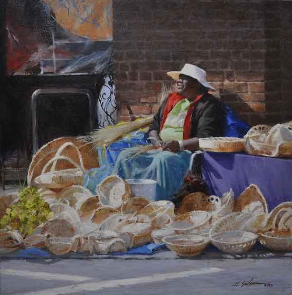 Basket Weaver by  Hodges Soileau - Masterpiece Online