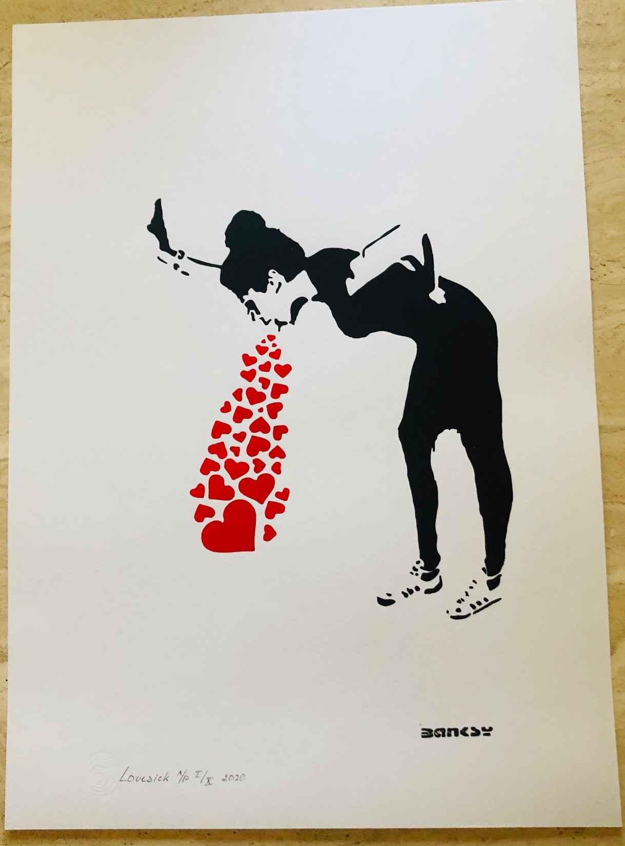 Love Sick by   Banksy - Masterpiece Online
