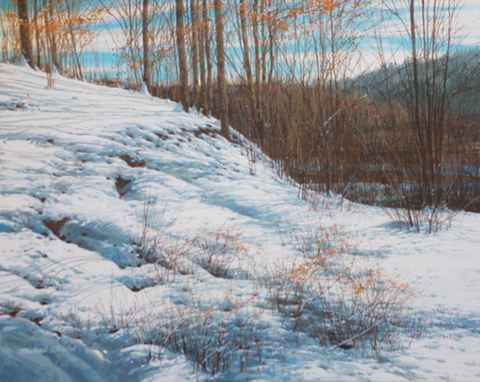 South Slope - Melting... by  Michael Wheeler - Masterpiece Online