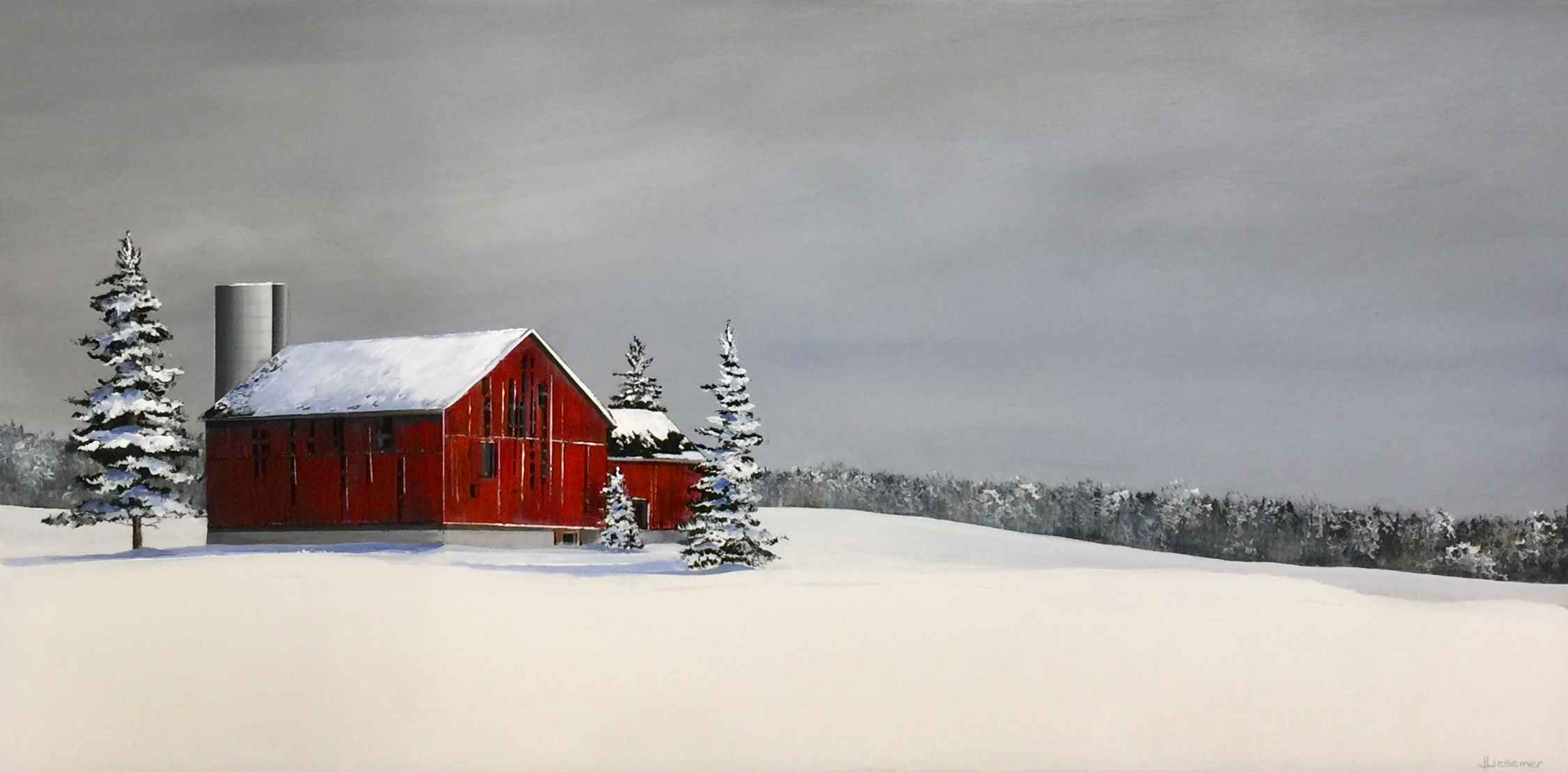 Settled In For Winter by  Janet Liesemer - Masterpiece Online