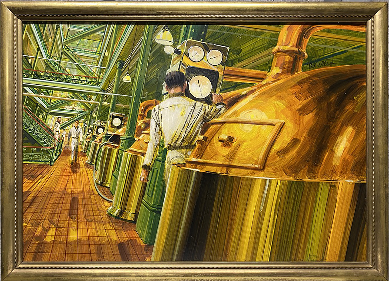 Schlitz Brewery Co. by Mr. Tex Wilson - Masterpiece Online