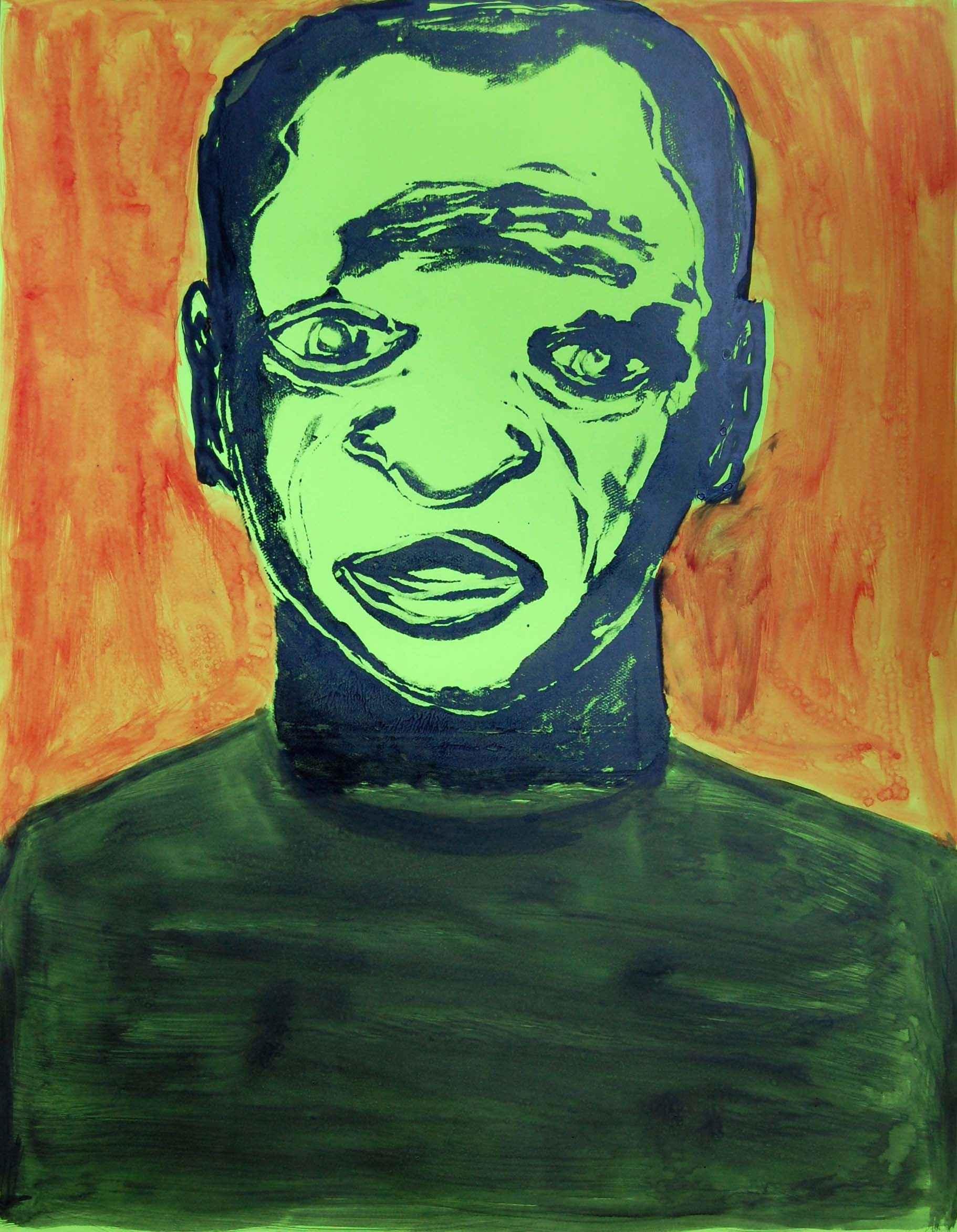 Green Man by  Patrick Ganthier KILLY - Masterpiece Online