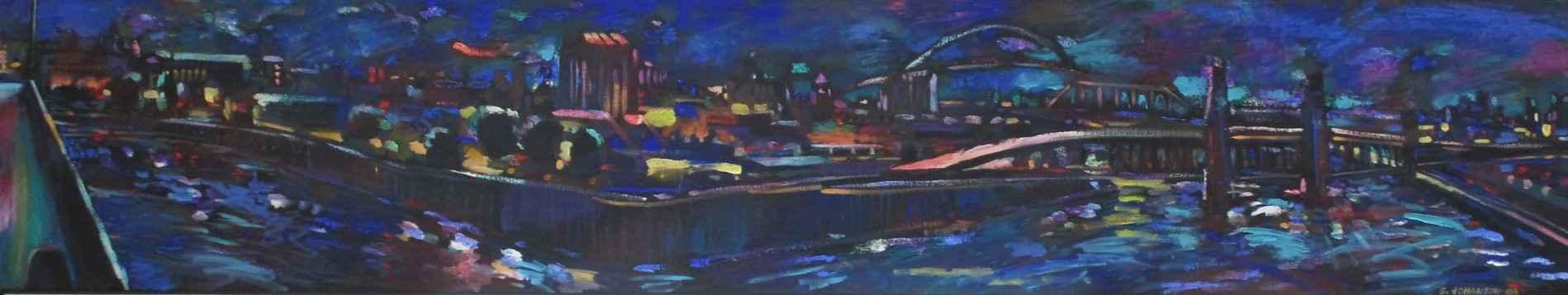 Upriver/Downriver (Ni... by  George Johanson - Masterpiece Online