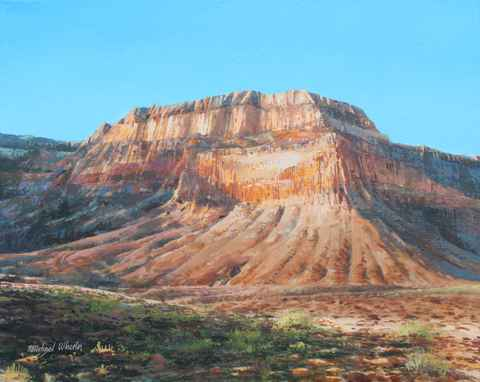 Mesa - Clear Day by  Michael Wheeler - Masterpiece Online