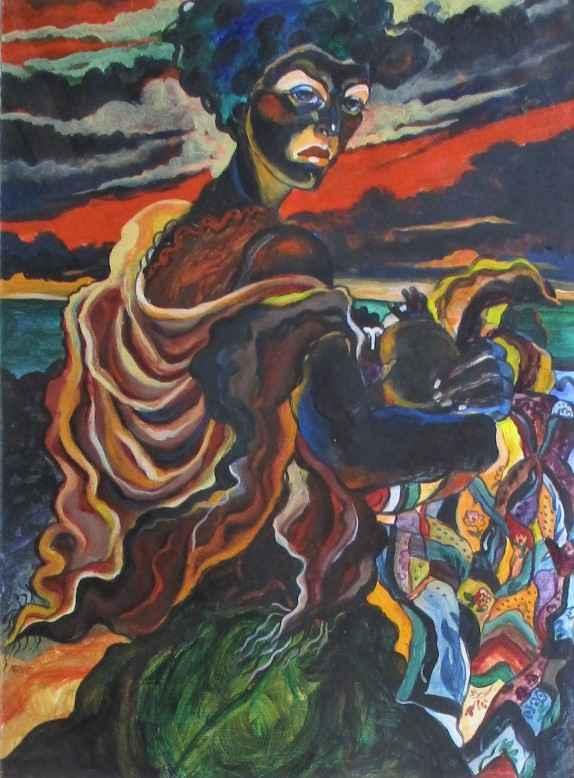 Walking away from sla... by  Arvie Smith - Masterpiece Online