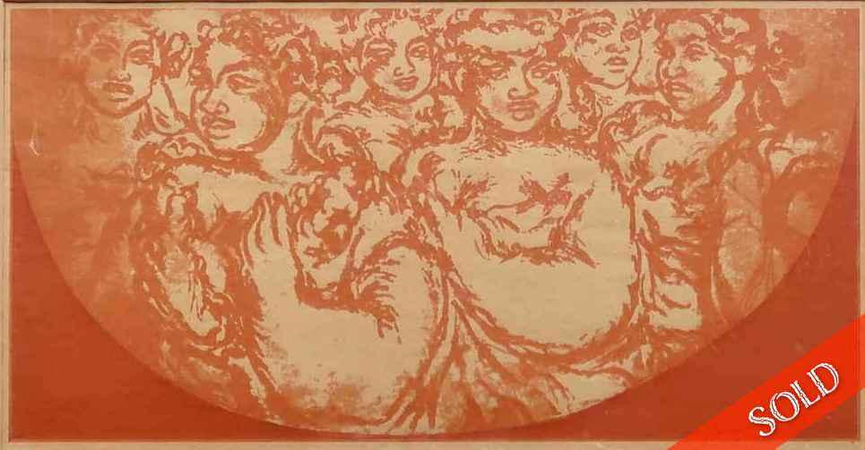 Plenty Hawaiians_seri... by  Madge Tennent (1889-1972) - Masterpiece Online