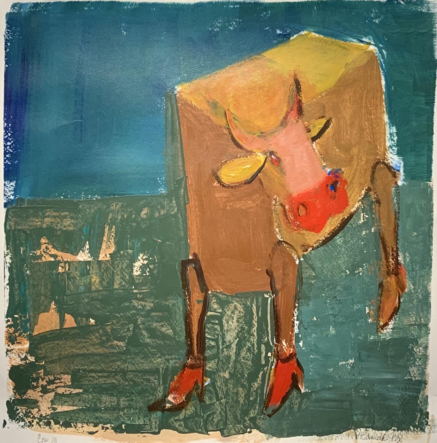 Cow III by  Brenda Fox - Masterpiece Online