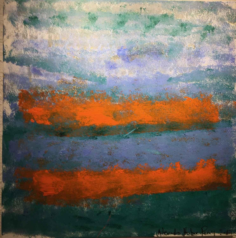 Brillant Azur 2 by  Alexandra HEUMBER PERRY - Masterpiece Online