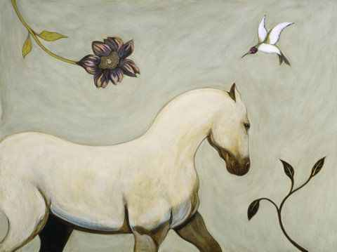 White Horse by Ms. Phyllis Stapler - Masterpiece Online