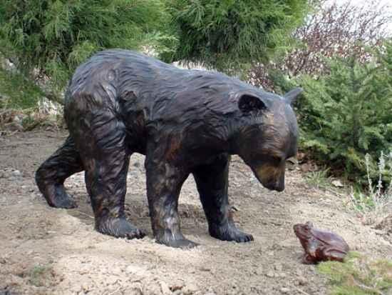 Black Bear Walking - ... by  Danny D. Edwards - Masterpiece Online