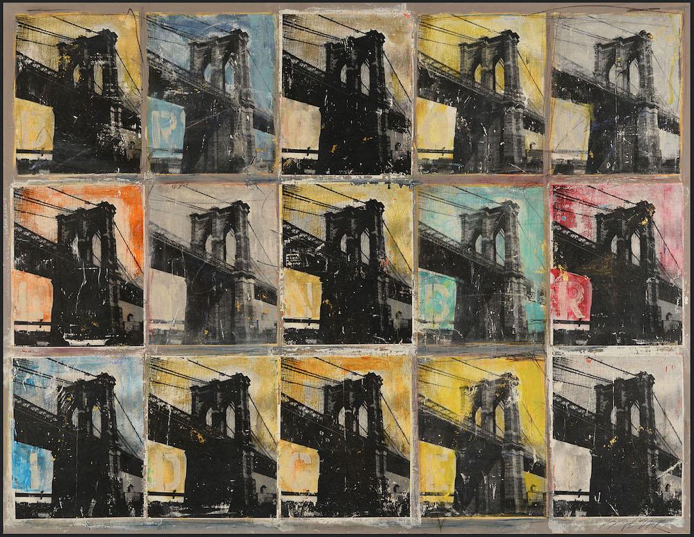 Brooklyn Bridge by  Michael Babyak - Masterpiece Online