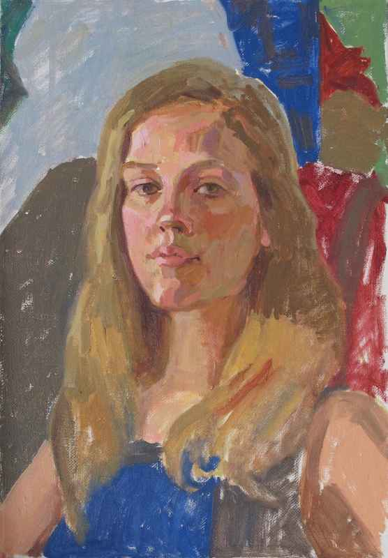 Study of Sunny Clack by  Melissa Hefferlin - Masterpiece Online