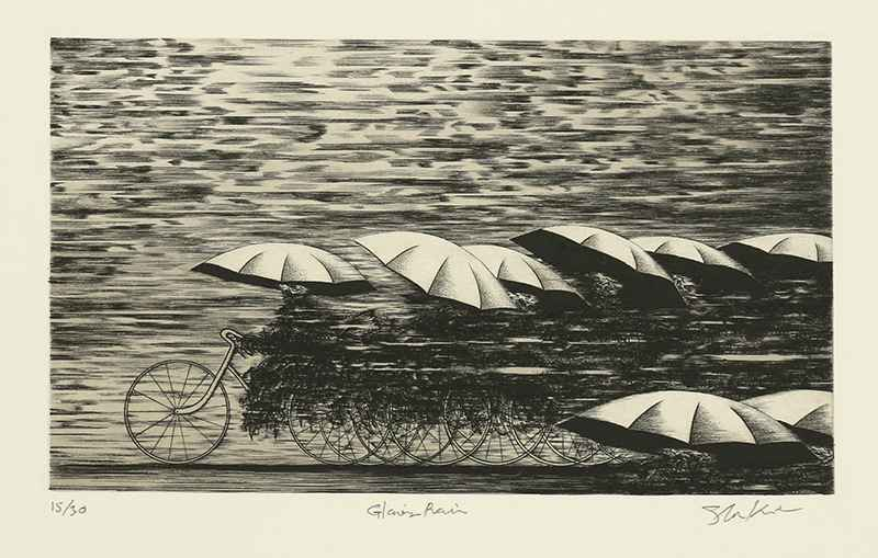 Glowing Rain by  Shigeki Kuroda - Masterpiece Online