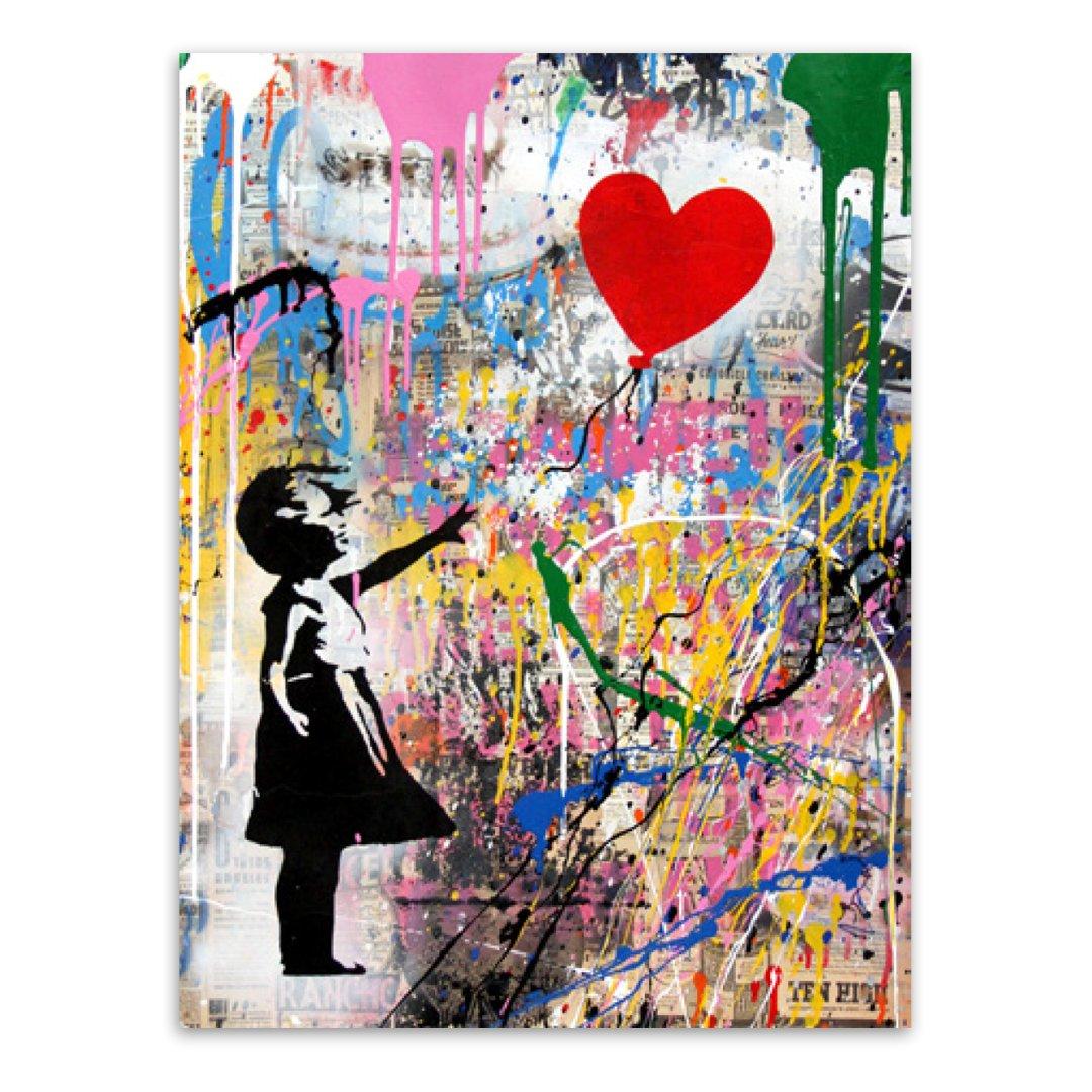 Balloon Girl by  Mr. Brainwash  - Masterpiece Online