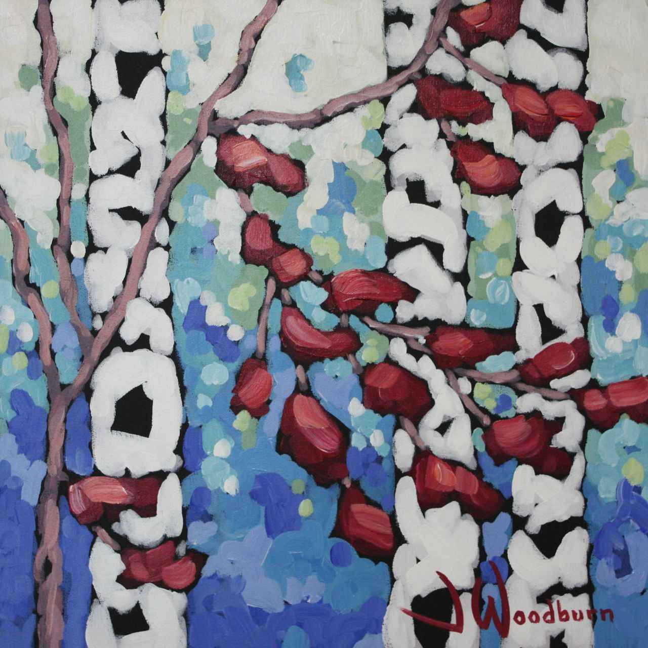 On the Upswing by Ms Jennifer Woodburn - Masterpiece Online