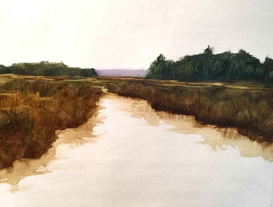 Inner Peace at Dawn  by  Susan Leggitt