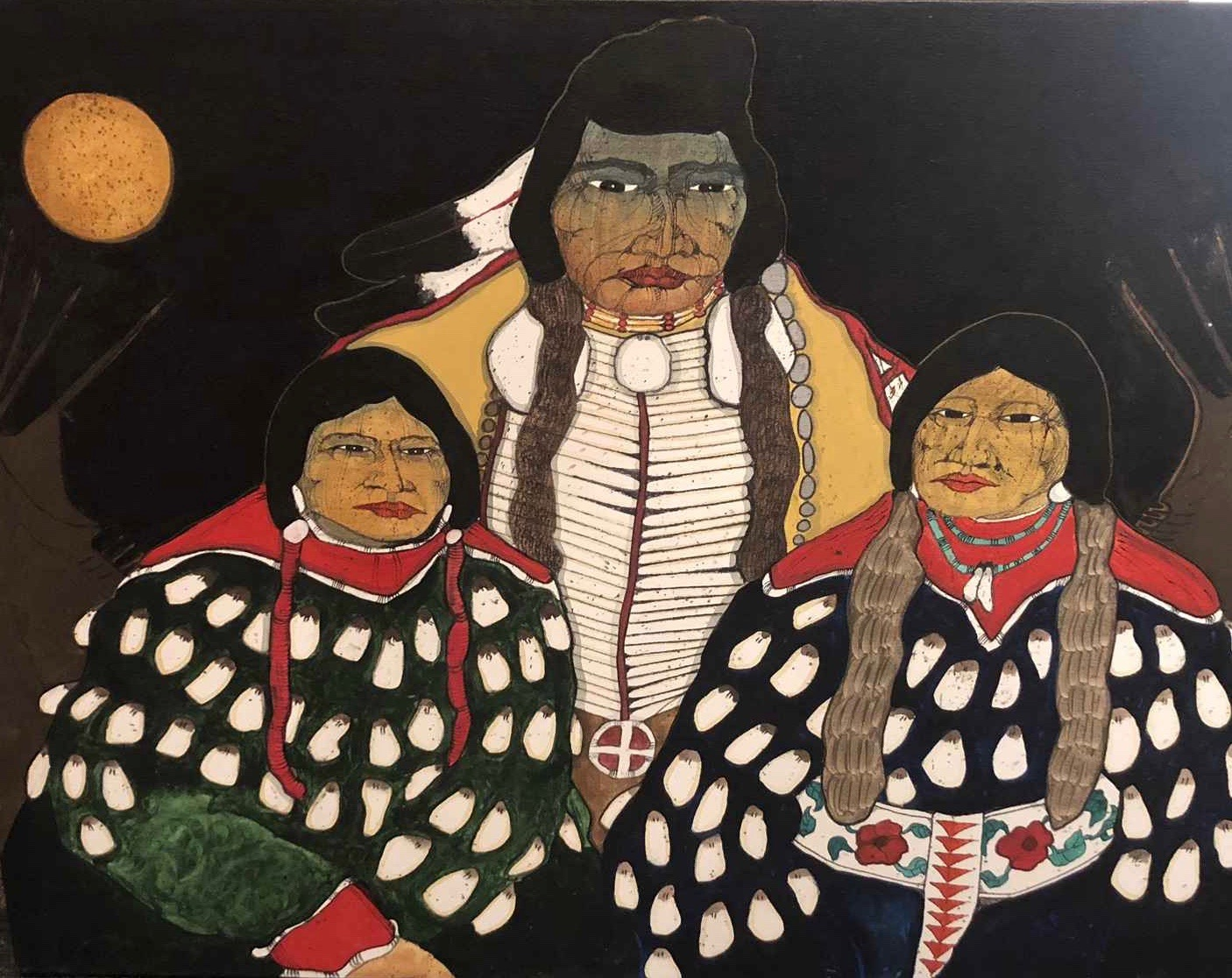 Crow Man and Ladies (... by  Kevin Red Star - Masterpiece Online