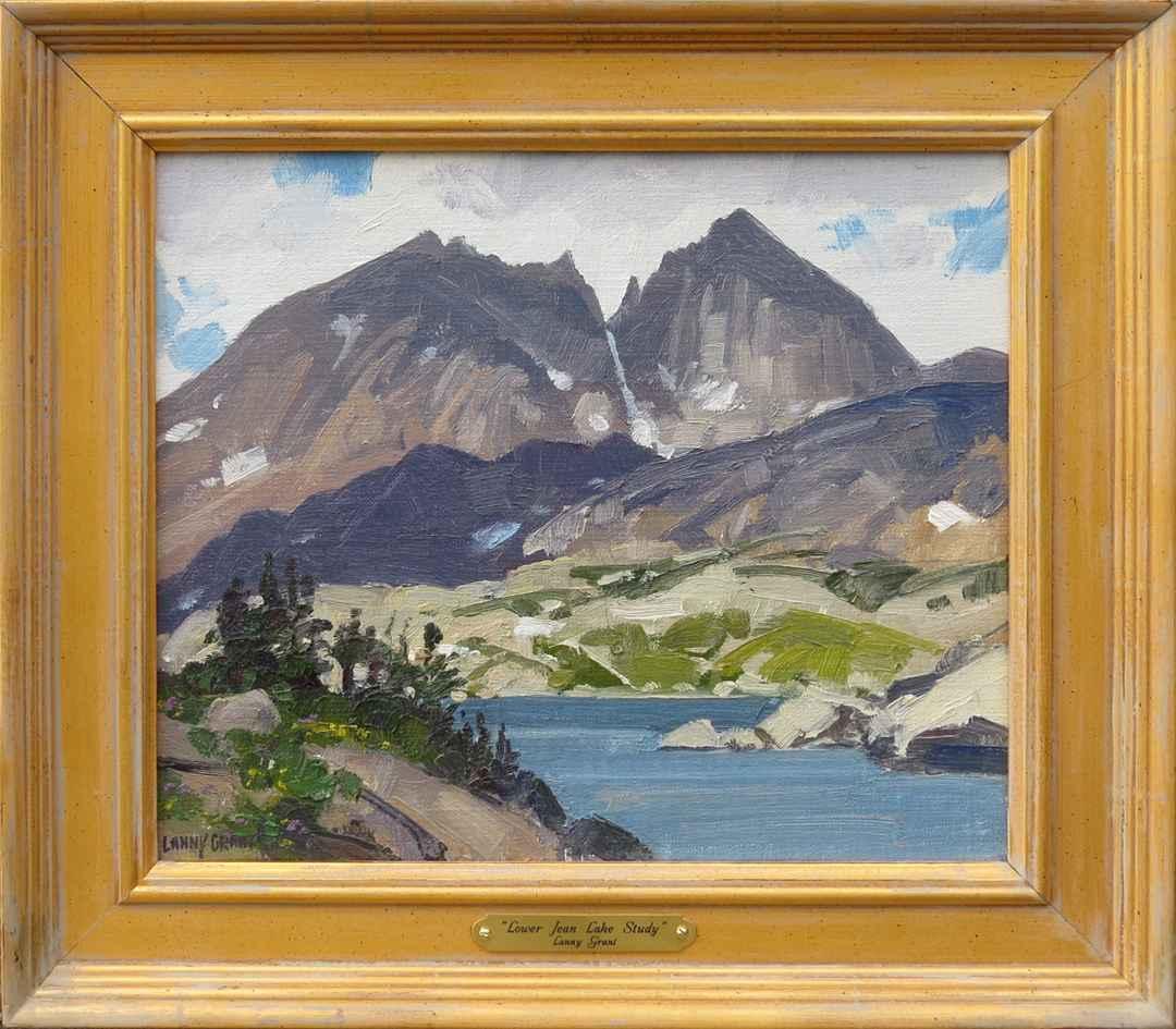 Lower Jean Lake (stud... by  Lanny Grant - Masterpiece Online