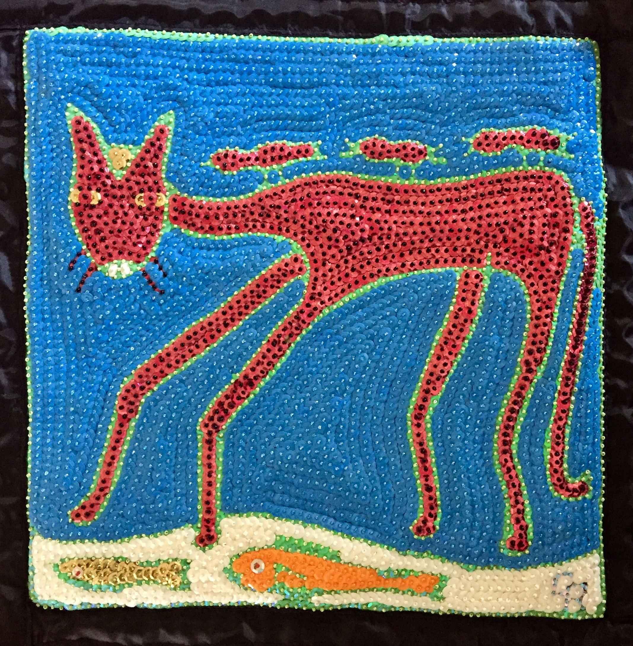 Blue Cat by  Reynold CLERISIER - Masterpiece Online