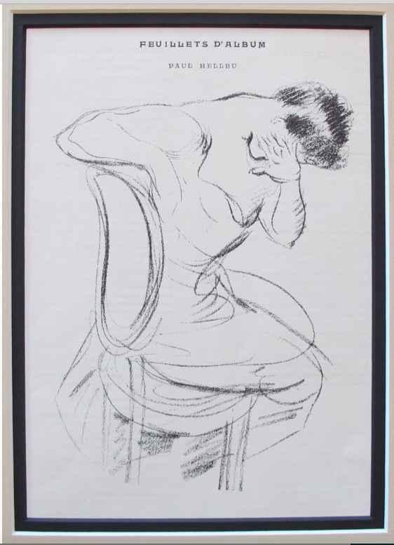 KBE Paul Cesar Helleu... by  Paul Helleu - Masterpiece Online