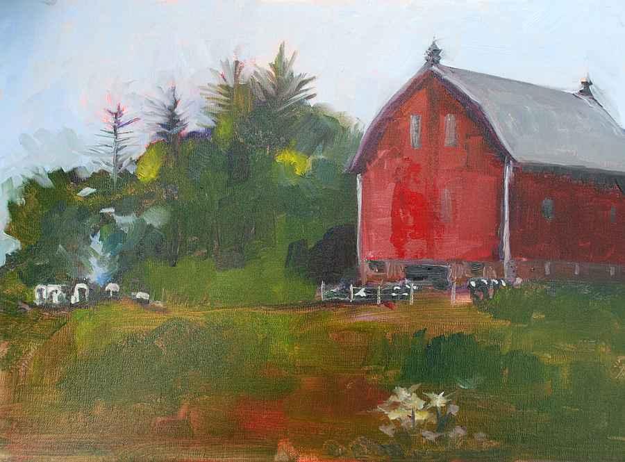 Farm Night by  Judith Gahn Murphy - Masterpiece Online