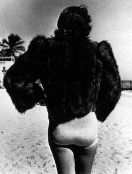 Woman Wearing Fur Jac... by  Alfred Eisenstaedt - Masterpiece Online