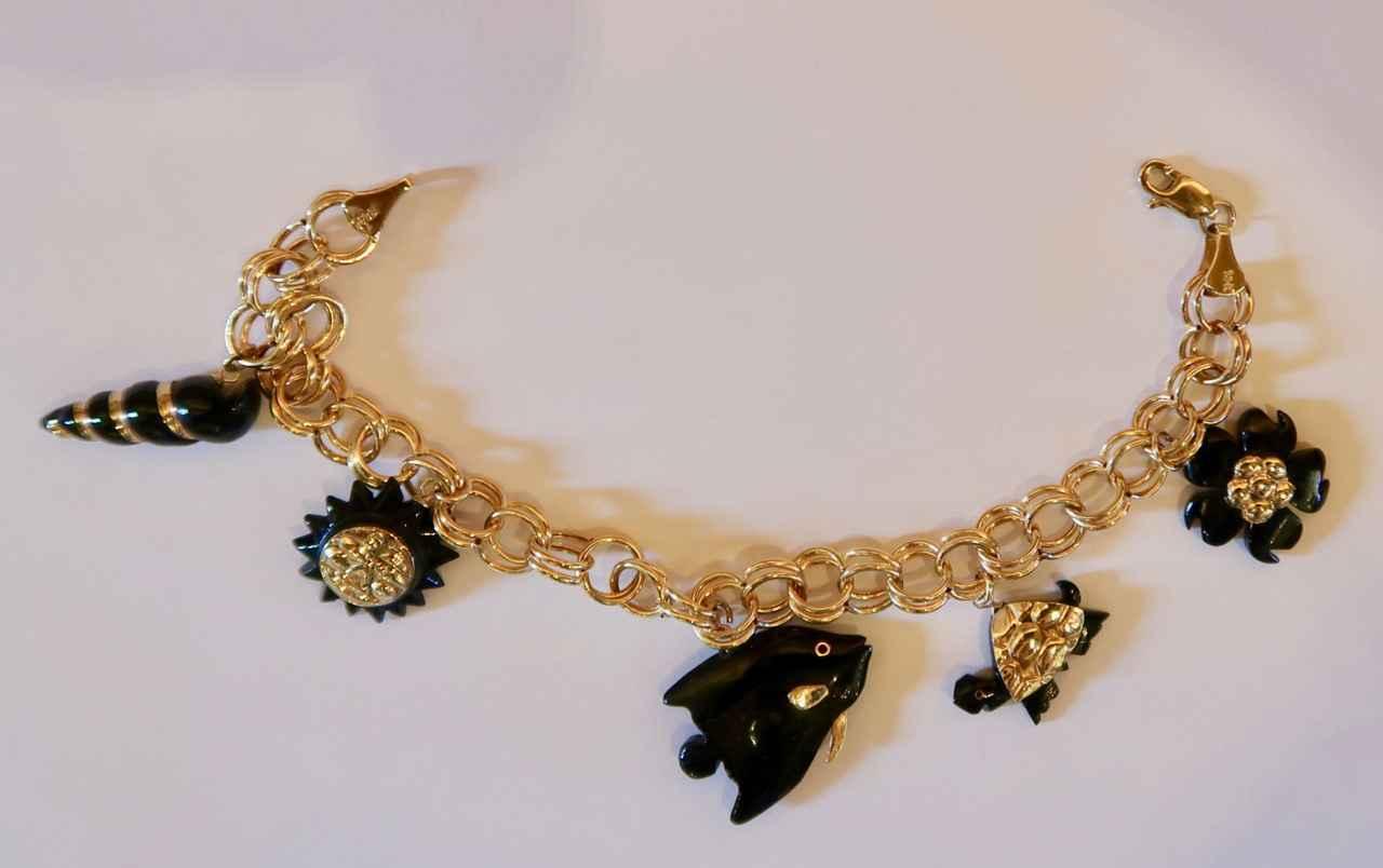 Italian Gold & Black ... by Mrs. Rebecca Mach - Masterpiece Online