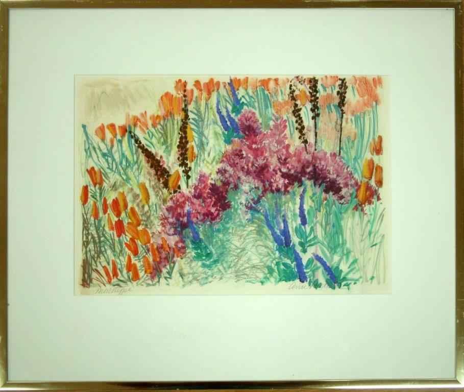 Wildflower Series: Pi... by  Ann Ruttan - Masterpiece Online