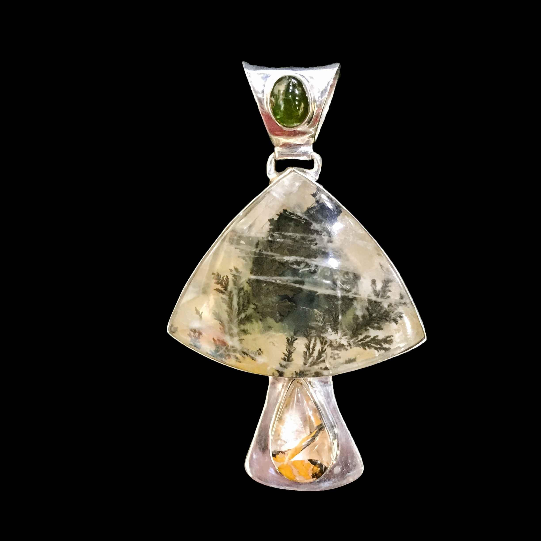 Dendrite, Green Tourm... by  Dee Winkelstern - Masterpiece Online
