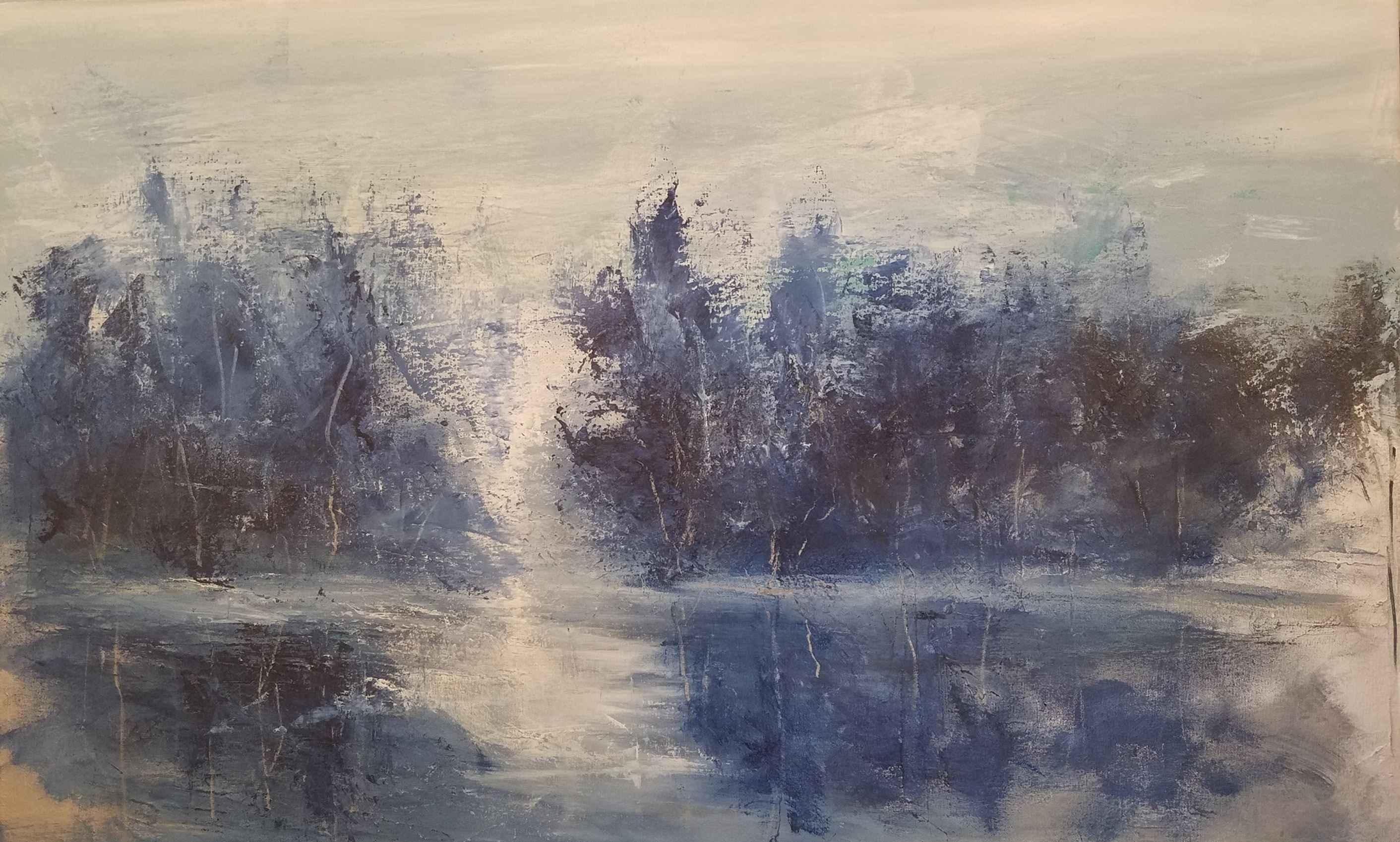 Opus in Blue #2 by  Steve Lyons - Masterpiece Online