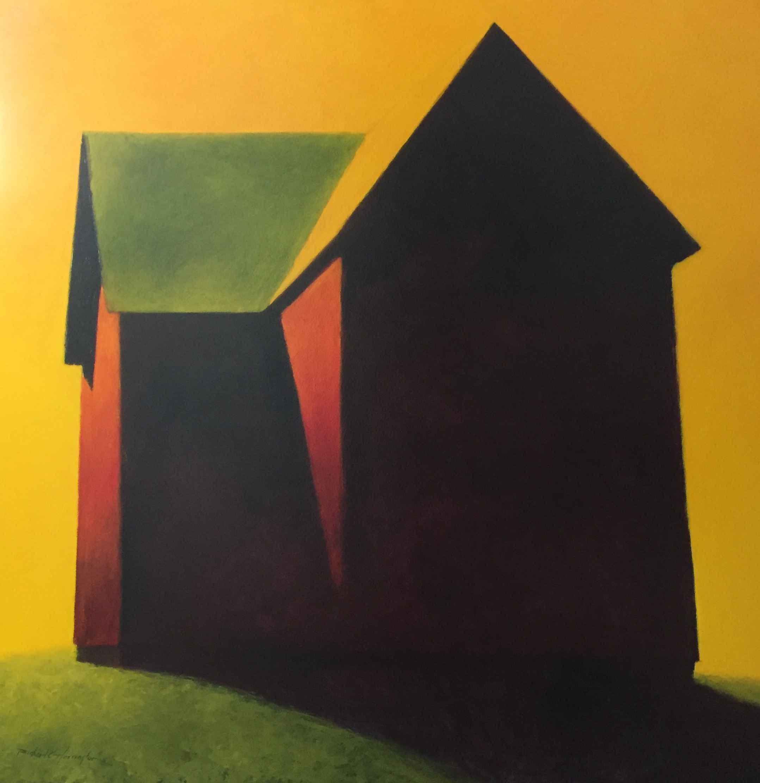 Old Woman's Barn by  Richard Harrington - Masterpiece Online
