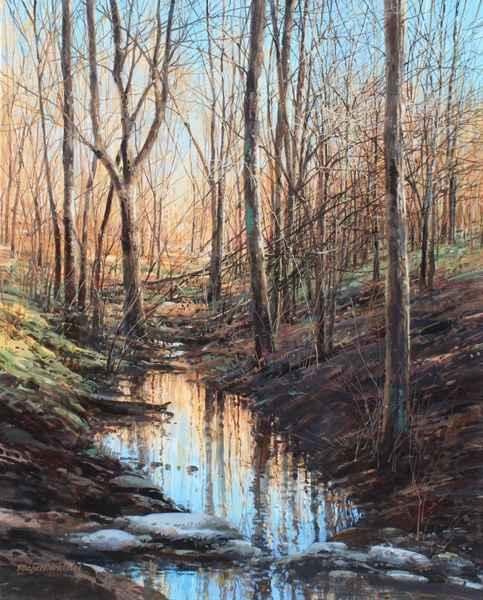 Evening Sun - East Fo... by  Michael Wheeler - Masterpiece Online