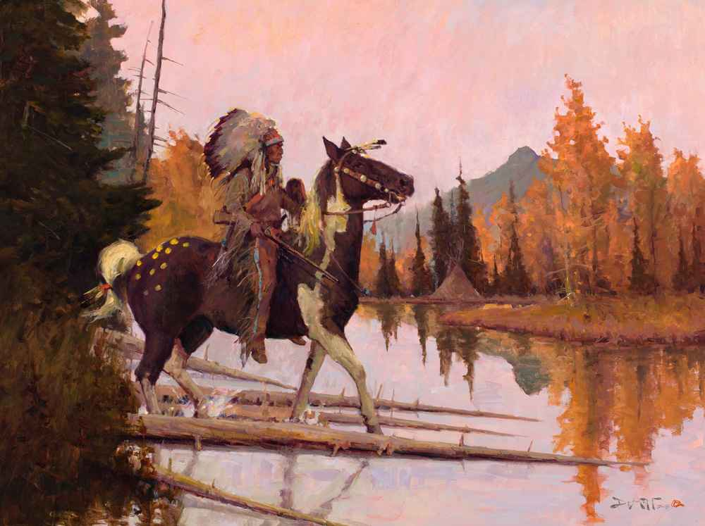 He Rides with Valor  by  John DeMott