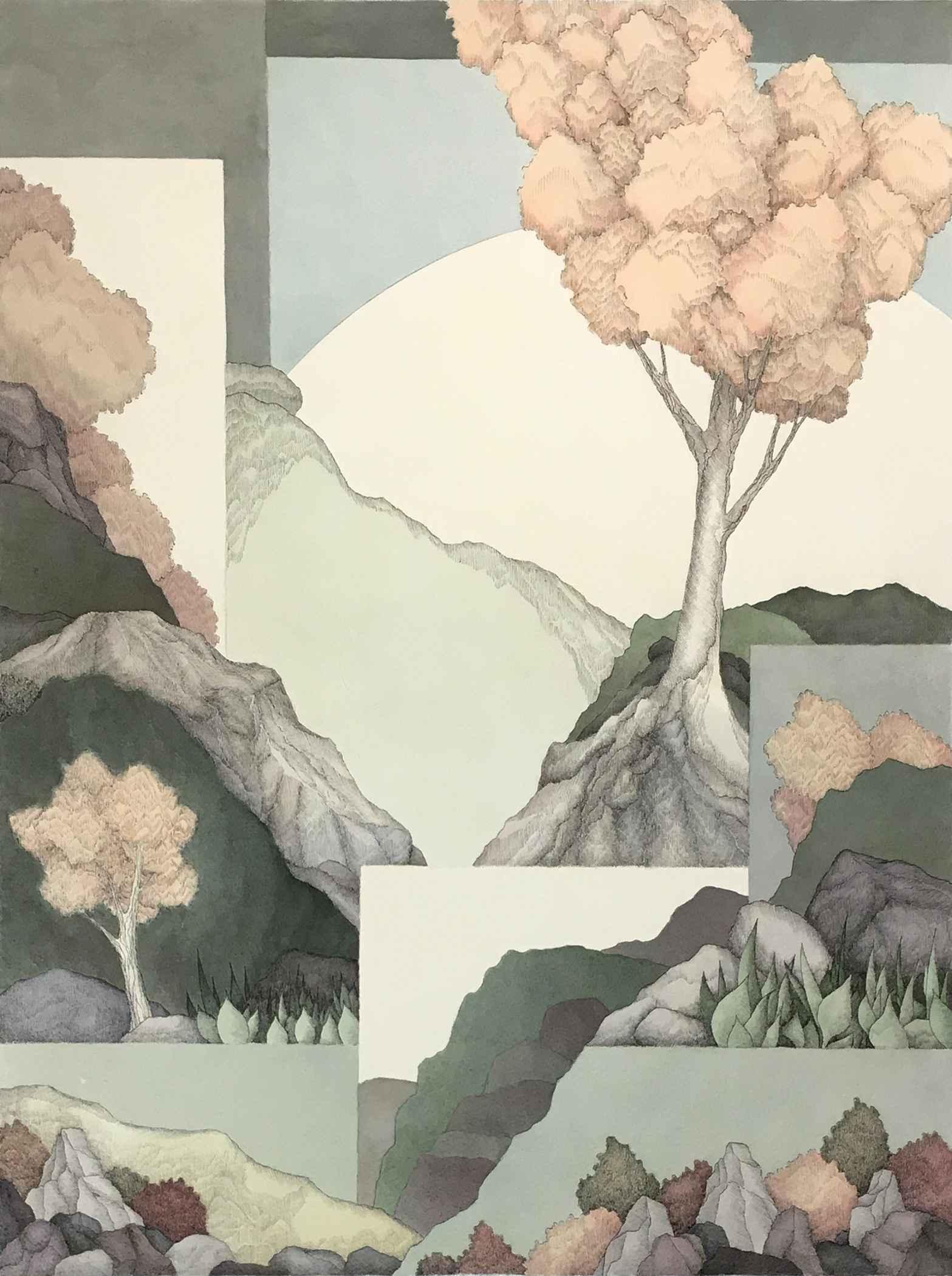 High Plains Tree by  Frank Nichols - Masterpiece Online