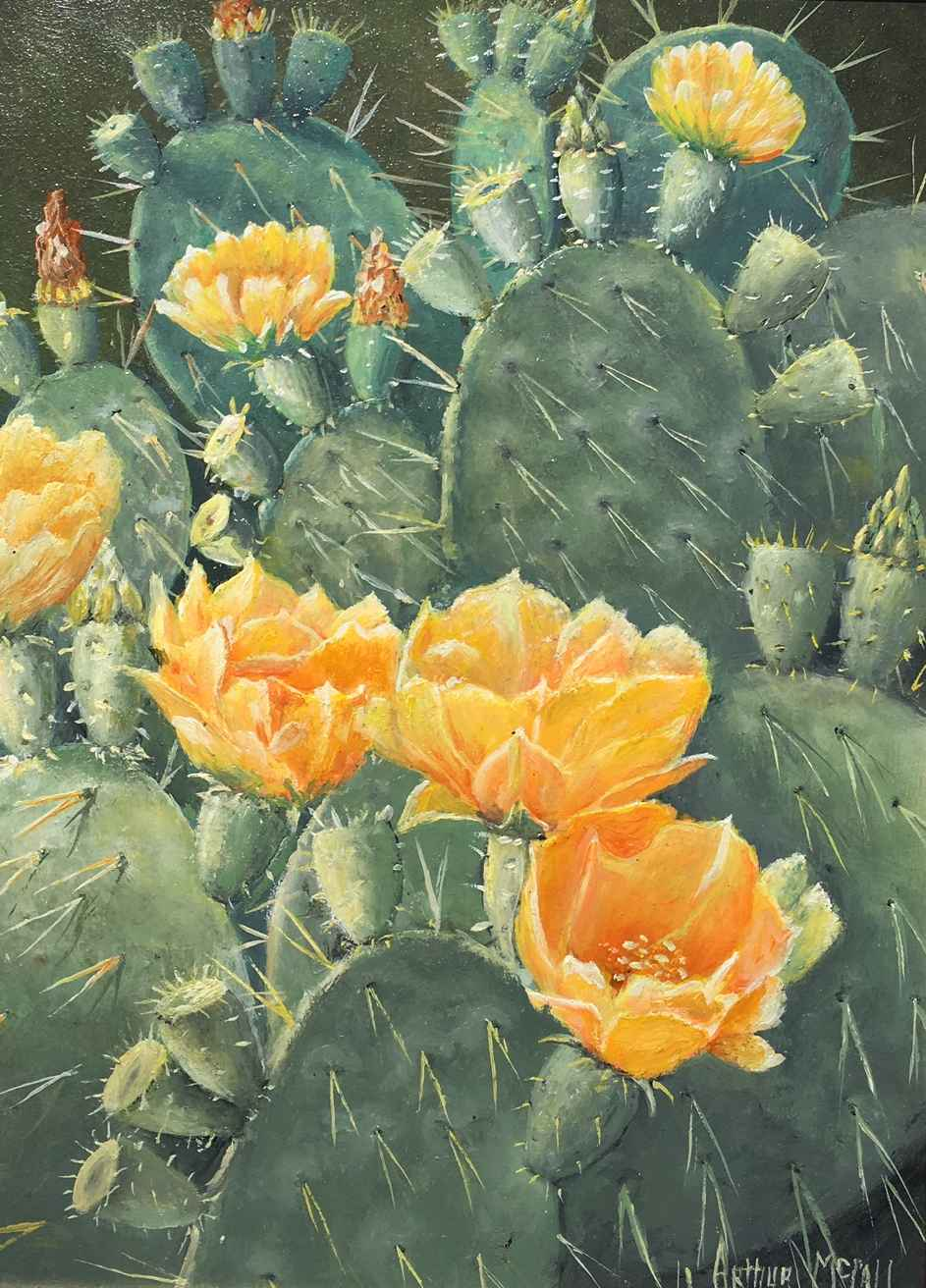 Prickly Beauty by  Arthur McCall - Masterpiece Online