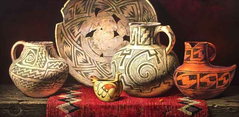 Pottery of the Ancest... by  Alexander Selytin - Masterpiece Online