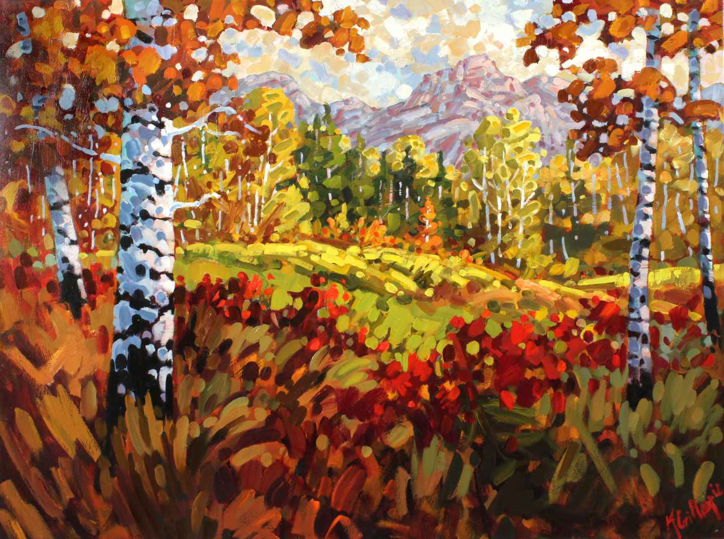 Fall Colors  by  Ken Gillespie