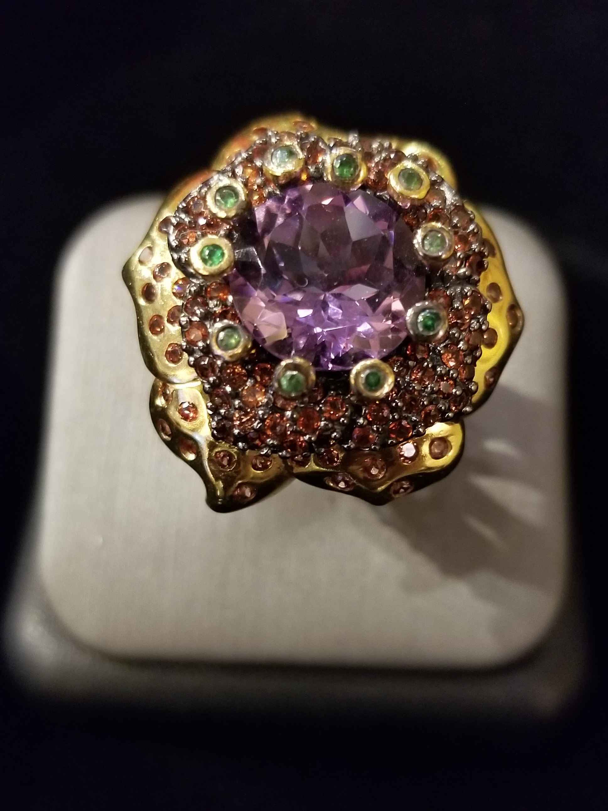 Ring - SS Rhodium Pla... by  Gallery Pieces - Masterpiece Online