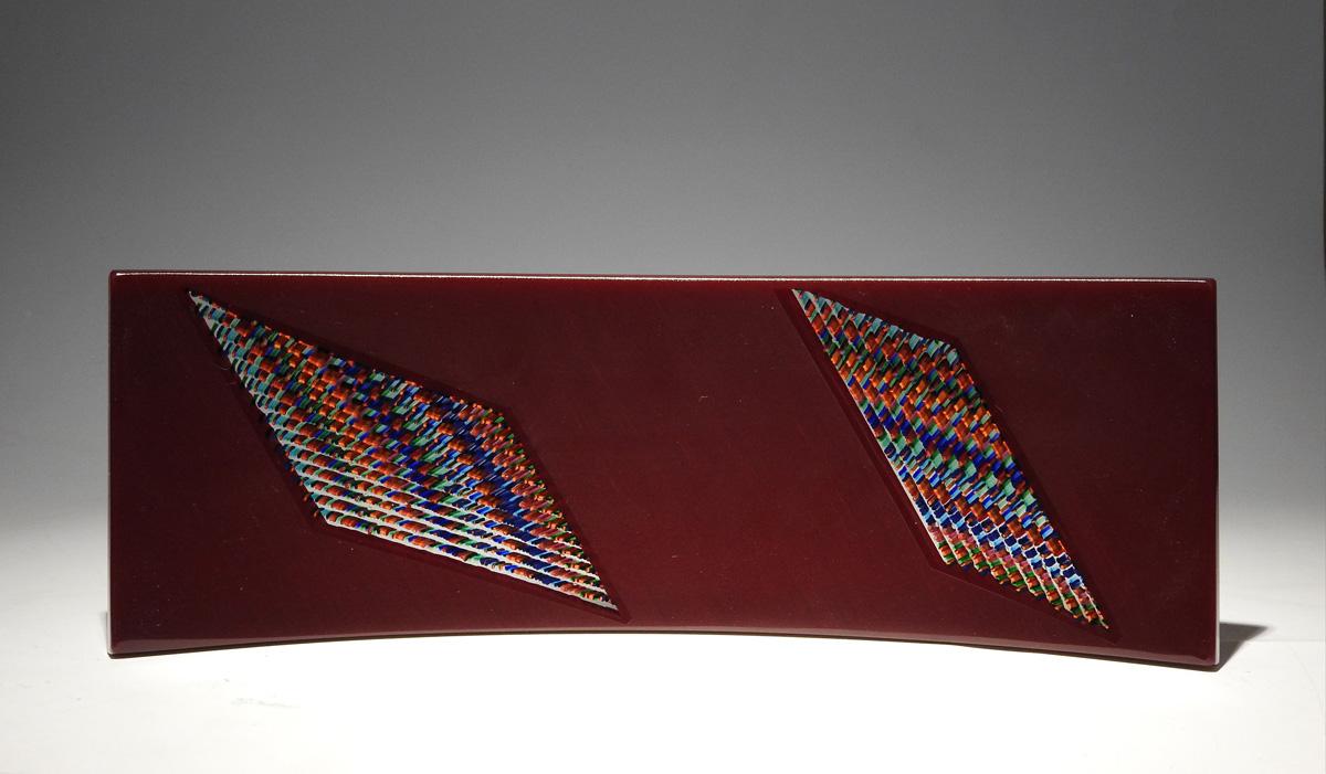 Tippa Plate/Cranberry by  Martin Kremer - Masterpiece Online
