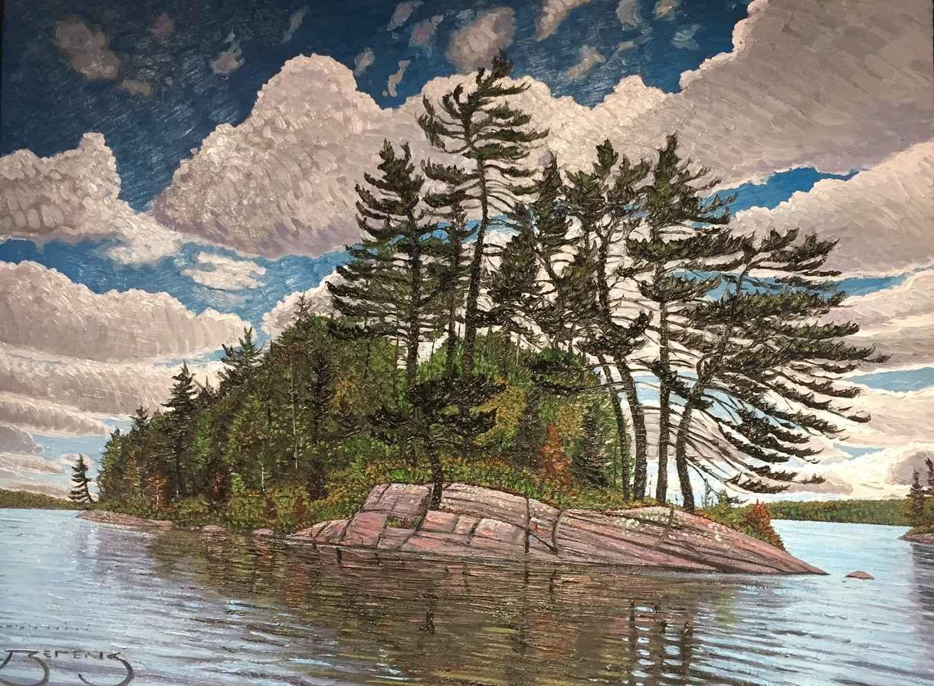 Taylor Statton Island... by  Mark Berens - Masterpiece Online