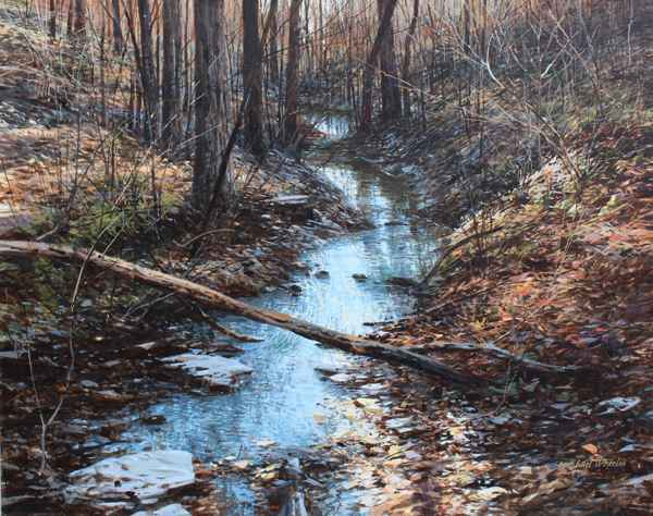 West Fork in November by  Michael Wheeler - Masterpiece Online