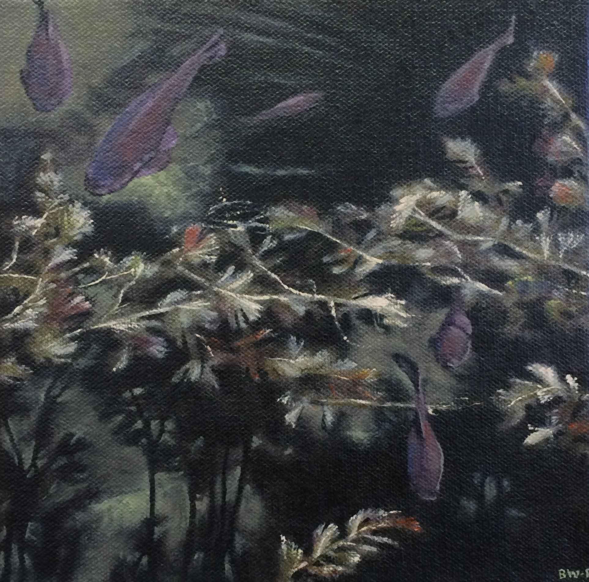 Dark Fish IX  by  Barbara Waterman-Peters
