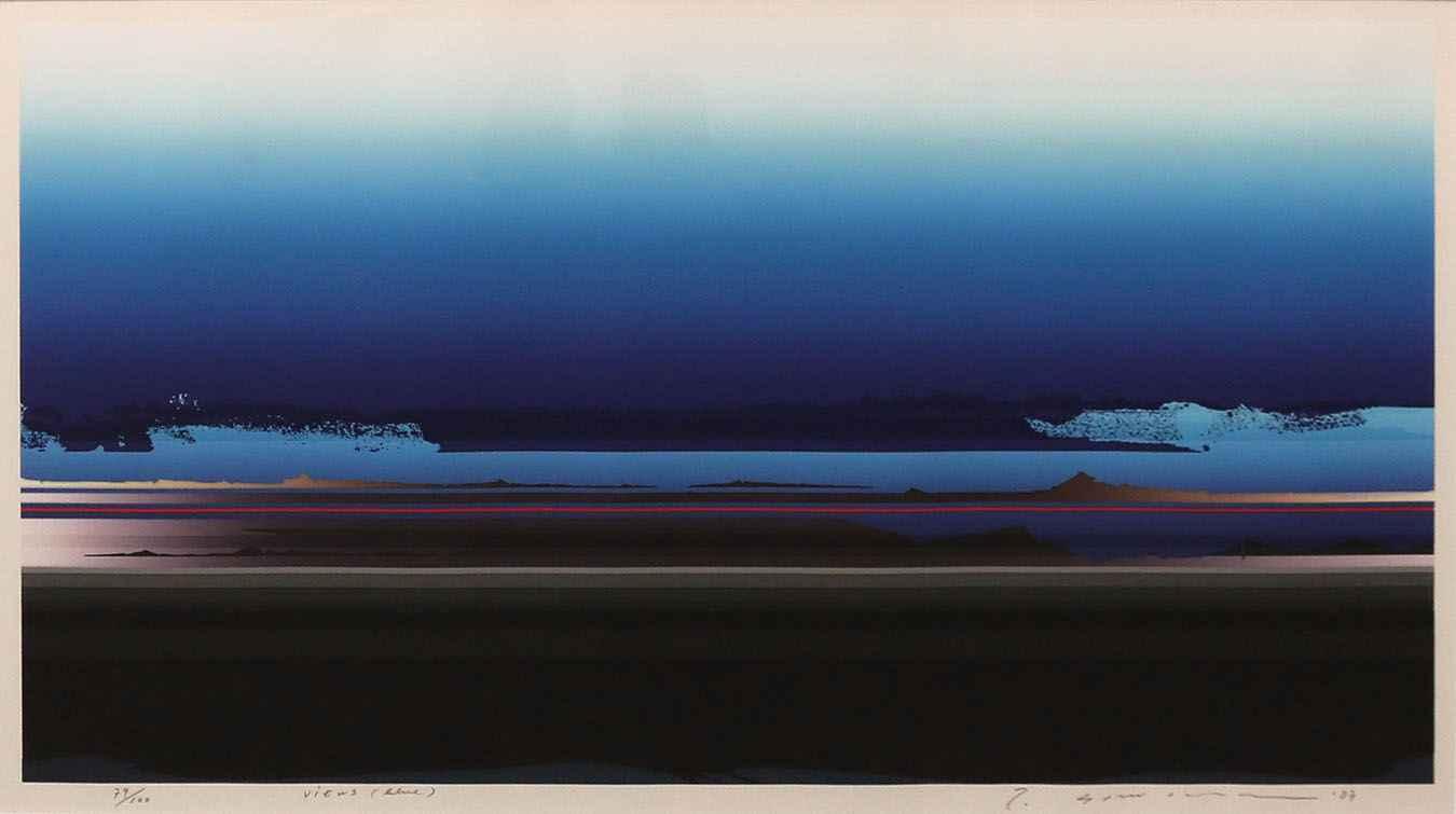 Views (Blue) by  Tetsuro Sawada - Masterpiece Online