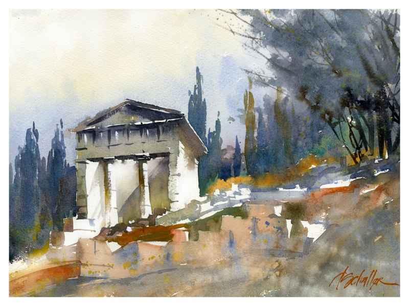 Temple of Delphi by Mr. Thomas Schaller - Masterpiece Online