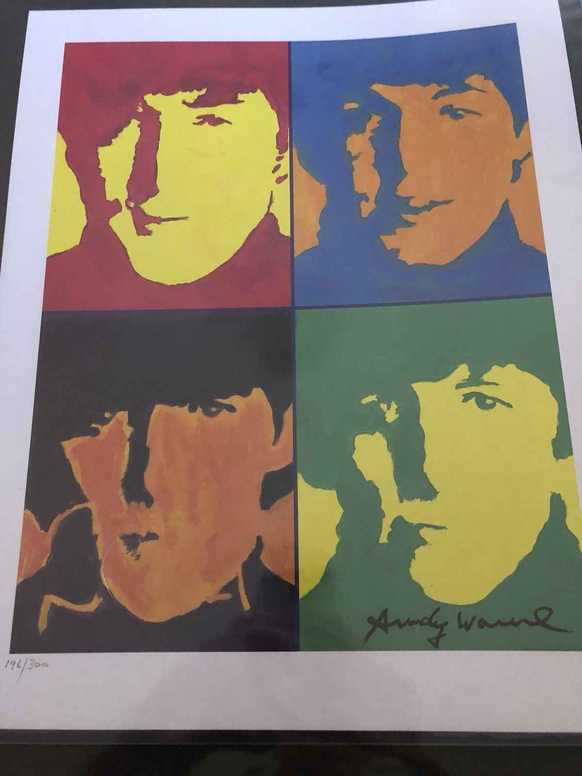 The Beatles by  Andy Warhol - Masterpiece Online
