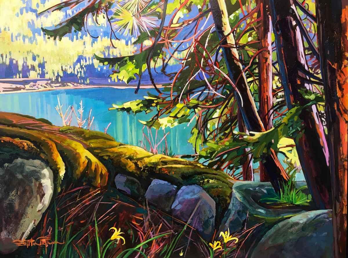Mossy Ledges by  Stephanie Gauvin - Masterpiece Online